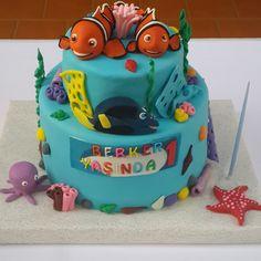finding nemo cake, nemo cake topper