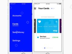 Spring UI - Cards & Menu by Jamie Syke
