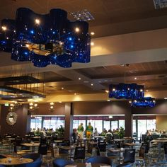 Helensvale Bowls Club   Projects   Yellow Goat Design - Custom Lighting