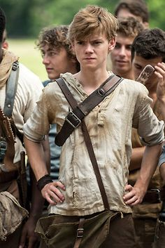 Newt (Thomas Brodie Sangster) - The Maze Runner