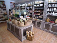 agencement de la savonnerie Maison du Savon de Marseille au Cap d'Agde