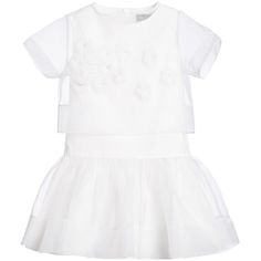 White Cotton Lili-Gaufrette Summer Sale up To 60% off www.studiokidz.ca