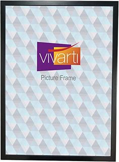 Vivarti Thin Matt Black Picture Frame, A2 Size, 59.4 x 42 cm,: Amazon.co.uk: Kitchen & Home  Frame for Movie Bucket List Poster