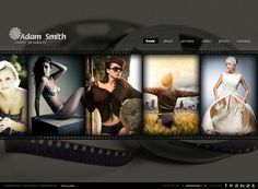 Producer HTML5 Photo & Video Gallery Template by Dynamic Template