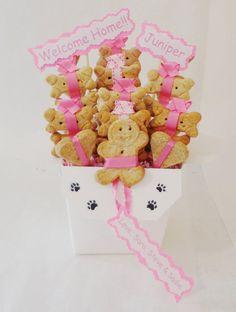 #Personalized treat baskets for #pets. #Dog #giftbasket https://www.etsy.com/listing/248350712/dog-biscuit-treat-dog-gift-basket-unique?ref=shop_home_active_13