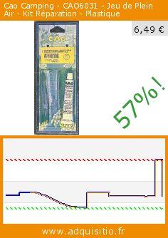 Cao Camping - CAO6031 - Jeu de Plein Air - Kit Réparation - Plastique (Jouet). Réduction de 57%! Prix actuel 6,49 €, l'ancien prix était de 14,98 €. http://www.adquisitio.fr/cao-camping/cao6031-jeu-plein-air-kit