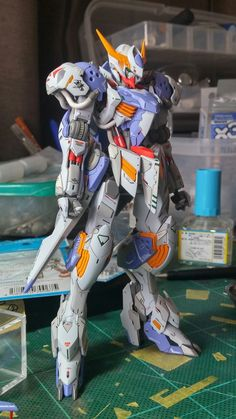Gundam Wing, Gundam Art, 3d Figures, Action Figures, Barbatos Lupus Rex, Space Knight, Blood Orphans, Gundam Iron Blooded Orphans, Gundam Mobile Suit