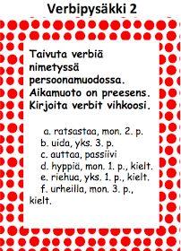 OpenIdeat: Verbejä ja historiaa Special Needs Teaching, 5th Grades, Teaching Reading, Grammar, Alphabet, Literature, Projects To Try, Language, Classroom