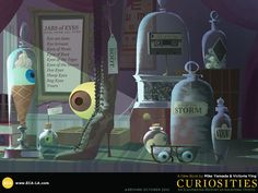 """""""Curiosities"""" - Mike Yamada and Victoria Ying."""