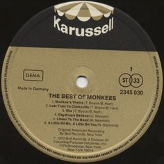 Monkees, The - The Best Of Monkees 1972 Lp