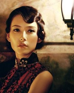 Finger waves and a cheongsam... utter beauty!