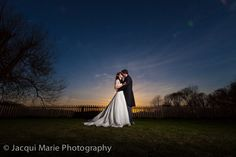 Gorgeous bride & groom against a stunning sunset, photographed by Hampshire wedding photographers Jacqui Marie Photography. VISIT http://jacqui-marie-photography.co.uk for details.  #wedding #photography #weddingphotography #Hampshire #England #uk