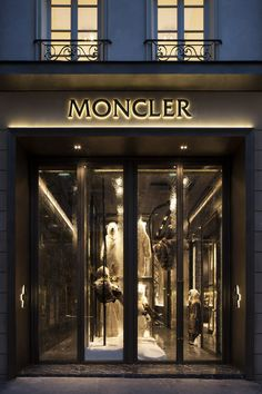 Boutique Moncler: store locator | Moncler | Pinterest | Tokyo, Interiors and Window