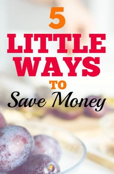 Sometimes a little side hustle can save you! Little ways to earn extra money can really add up.