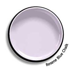 Resene Blue Chalk is a pale, delicate lilac, very romantic and tender. View this and of other colours in Resene's online colour Swatch library Peach Rooms, Resene Colours, Purple Paint Colors, Online Coloring, Color Swatches, Beautiful Homes, Delicate, Plates, Crystals