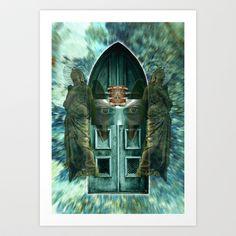 Angel 20 Art Print by Richard J Wise - $17.68