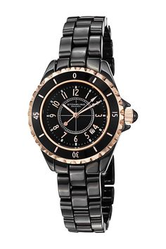 Women's Fashion Glamour Ceramic Watch by Stuhrling on @nordstrom_rack. 34mm. $100
