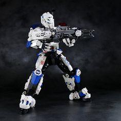 Police Powered armor | by LEGO DOU Moko