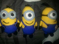Amigurumi Minion Tarifi : Amigurumi minion modeli yapımı amigurumi patterns and crochet