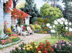 Gallery.ru / Фото #1 - Ласковое лето Barbara Rosbe Felisky. - Anneta2012
