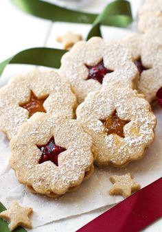Raspberry Almond Linzer Cookies Recipe | Little Spice Jar