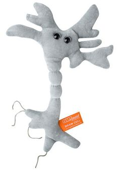 Brain Cell Plushie.  It's millions of times the size of an actual neuron, and we're guessing it's a lot cuter! #nerd