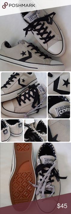 LISTING CONVERSE STAR PLAYER SKA SIZE 11MEN -BRAND NEW IN BOX (NO LID) -SIZE: 11 MEN -COLOR: OYSTER GRAY -MADE IN CHINA   -INCLUDE ORIGINAL BOX WHEN SHIP NO LID   ⚠️⚠️⚠️PLEASE UNDERSTAND SOMETIME THE BOX POSSIBLY DAMAGED. IF YOU CONCERNED ABOUT THE BOX PLEASE ASK FIRST BEFORE PURCHASE. PLEASE PAY ATTENTION TO DETAILED OF SHOES OF THE PIC. THANKS ⚠️⚠️⚠️⚠️⚠️       ⭐️TOP RATED SELLER FAST SHIPPER NEXT DAY SHIPPING ❌NO TRADE ❌NO PAYPAL ✅BUNDLE OFFER Converse Shoes Sneakers