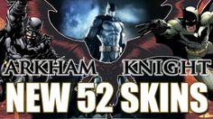 Batman: Arkham Knight - New 52 Skin + Hellblazer & Zero Year Skin Ideas