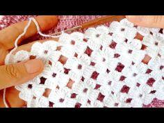 Muhteşem Dantel görünümlü yelek battaniye şal Örgü modeli - YouTube Beginner Crochet Projects, Crochet For Beginners, Crochet Stitches, Crochet Patterns, Hat Patterns, Projects To Try, Blanket, Crafts, Youtube