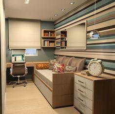 Quarto de hóspedes e home office