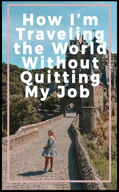 Finanzen - How I'm traveling the world without quitting my job - see how you can travel and. Travel Checklist, Travel Advice, Travel Guides, Travel Tips, Travel Hacks, Travel Careers, Travel Articles, Travel Essentials, Things To Do