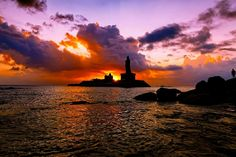 Kanyakumari, Tamil Nadu is another place that is truly a photographer's paradise!   There is no specific time in the day to take a photo. It all depends on the colour of the sky and the angle from where you take it.   #India #Kanyakumari #TamilNadu #SouthIndia #photographersparadise #travel #trip #tour #yolo #usa #UCLA