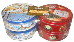 Kelsen Danish Butter Cookies Christmas Thanksgiving Holiday Cookie Gift Present Four 1 Pound Tins by Kelsen, $19.18