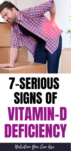7-serious signs of Vitamin-D Deficiency. Are you ignoring these serious signs of low Vitamin-d ? Here's what you need to know Vitamin D Deficiency Symptoms, Observational Study, Vitamin D Supplement, Fighting Depression, Bone Loss, Bone Density, Best Supplements