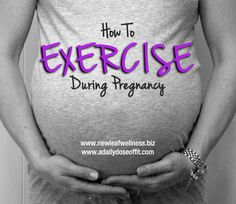 How to exercise safely during pregnancy. Plus the best/worst exercises to do while pregnant. - check more here http://ehowtogetpregnant.com/