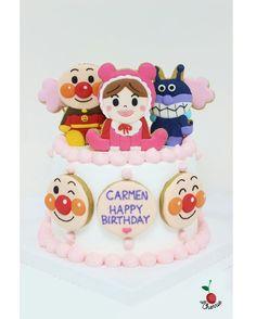 Anpanman Birthday Cake ig漏信, 請不要Direct, 查詢請到⬇⬇⬇⬇⬇⬇ www.facebook.com/petitecherrie.petitecherrie  #麵包超人 #anpanman #アンパンマン #細菌小子 #BB超人 #あかちゃんまん #ばいきんまん #麵包超人蛋糕 #anpanmancake #icingcookies #decoratedcookies #icingart #edibleart #cookieart #handmade #handmadecake #曲奇 #糖霜曲奇 #糖霜餅乾 #生日 #生日蛋糕 #百日宴 #百日宴蛋糕 #手造 #手作 #petite_cherrie http://www.butimag.com/麵包超人蛋糕/post/1449066113228190829_495039616/?code=BQcHfPXBbRt