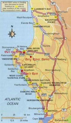 cape namibia westcoast route map - Google Search Cape Town, West Coast, Maps, River, Google Search, Blue Prints, Rivers, Map, Cards
