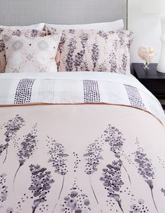 """The biggest and easiest way to update for spring is to change linens,"" says designer Samantha Pynn."