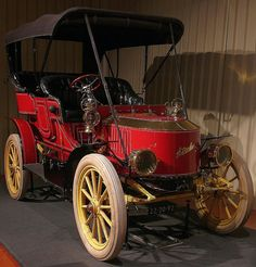 Stanley 20-HP MODEL F TOURING CAR Steam 1906