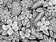 New pattern in progress, fun tropical vibes to block out the winter blues.
