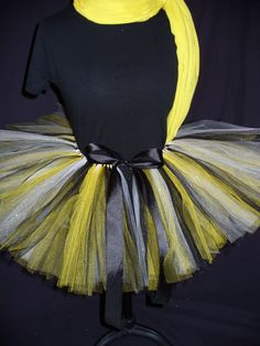 Iowa Hawkeye or Bettendorf High School inspired Tutu made by JojosTulleShack.com