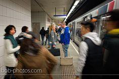 Loveshoot Metro Rotterdam.  http://www.bob-photos.com/loveshoots/loveshoot-rotterdam-hans-barbara/
