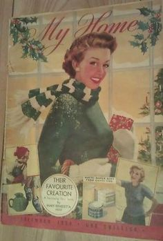 My Home magazine from December 1954