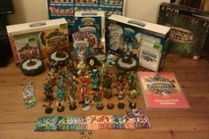 A Huge Skylanders Collection! Skylanders, Submission, Hashtags, Claire, Lego, Thankful, Collections, Fan, Facebook