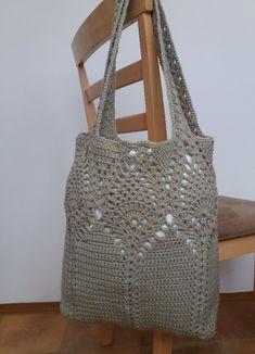 EmmHouse: Pineapple top market/shoulder bag – full written pattern