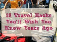 Use these travel hacks on your next trip to save you time, money & frustration! #WHYHB