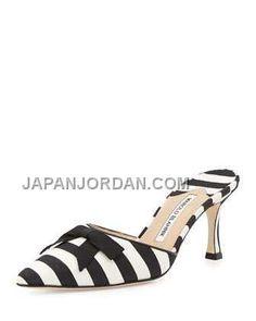 http://www.japanjordan.com/manolo-blahnik-carolyne-midheel-striped-fabric-slide-black-white.html MANOLO BLAHNIK CAROLYNE MID-HEEL STRIPED FABRIC SLIDE 黑 白 ホット販売 Only ¥23,203 , Free Shipping!
