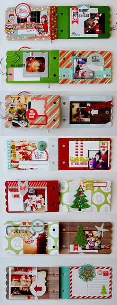 Elf on the Shelf Mini Album created using @chictags  and @Core'dinations cardstock by @SuzannaLee72