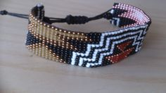 Loom beaded bracelet/Loom beaded bracelet with by Suusjabeads