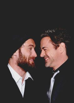 """Jude Law and Robert Downey Jr. (""""Sherlock Holmes: A Game of Shadows"""" premiere)"""